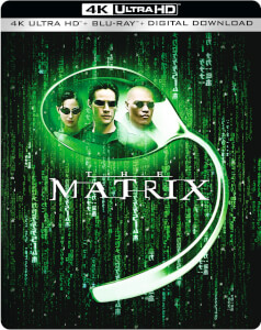 The Matrix - 4K Ultra HD Zavvi Exclusive Steelbook (Includes Blu-ray)