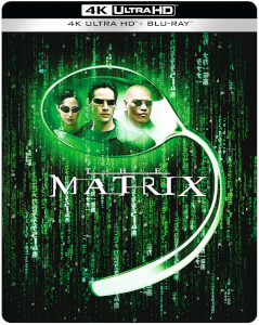 The Matrix - 4K Ultra HD Zavvi Exklusives Steelbook (Inkl. Blu-ray)