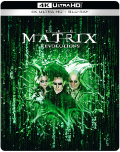 Matrix Revolutions 4K UHD - Steelbook Edición Limitada Exclusivo de Zavvi
