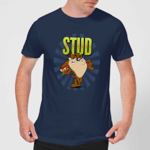 Looney Tunes Stud Taz Men's T-Shirt - Navy