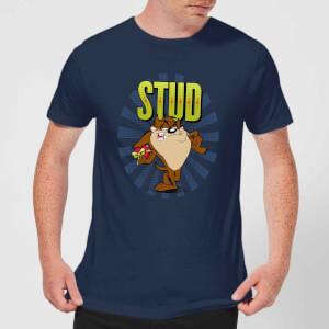 Looney Tunes Stud Taz Men's T-Shirt - Navy