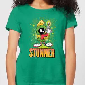 Looney Tunes Stunner Marvin The Martian Women's T-Shirt - Kelly Green