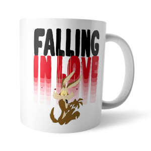 Looney Tunes Falling In Love Wile E. Coyote Mug