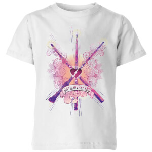 T-Shirt Harry Potter Until The Very End - Bianco - Bambini