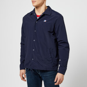 Russell Athletic Men's Shelby Packaway Coaches Jacket - Navy