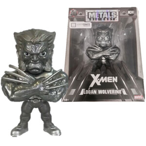 "Jada Metal Diecast 4"" Figure Marvel X-Men - Wolverine"