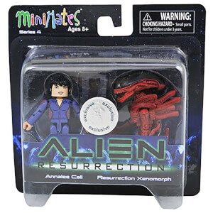 Alien Minimates Annalee Call Resurrection Xenomorph
