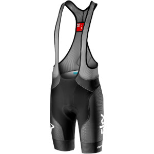 Team Sky Free Aero Race 4 Bib Shorts - Black