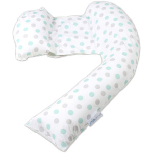 Dreamgenii Pregnancy Support and Feeding Pillow - Geo