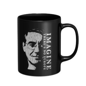 Imagine There's No Europe Mug - Black