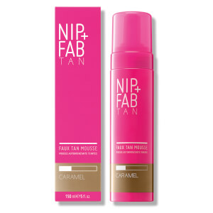 NIP+FAB Faux Tan Mousse 150ml - Caramel: Image 1