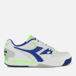 Diadora Men's Rebound Ace Trainers - White/Imperial Blue