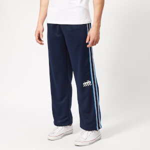 Diadora Men's Barra Track Pants - Blue Plum