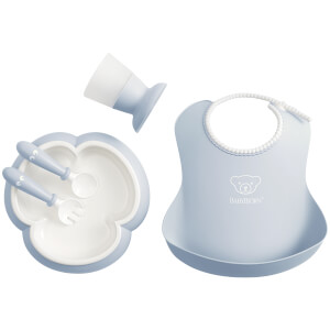 BABYBJ?RN Baby Dinner Set - Powder Blue