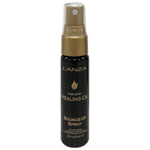 L'Anza Keratin Healing Oil Bounce Up Spray 25ml (Free Gift)