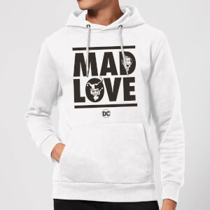 Batman Mad Love Hoodie - White