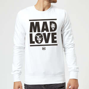 Batman Mad Love Sweatshirt - White