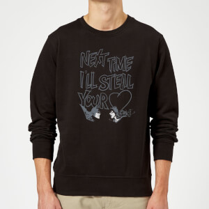 Batman Steal Your Heart Sweatshirt - Black