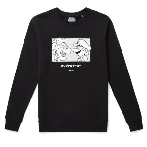Sweat Nintendo Original Hero Face Off - Noir