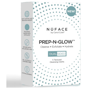 NuFACE Prep-N-Glow Cloths - Pack of 5 (Free Gift)