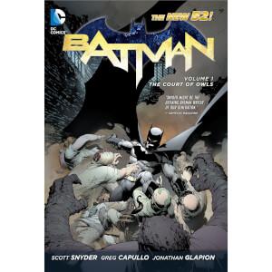 DC Comics - Batman Hard Cover Vol 01 The Court Of Owls (N52)