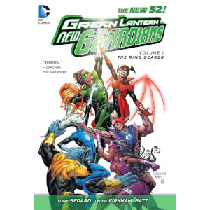 DC Comics - Green Lantern New Guardians Hard Cover Vol 01