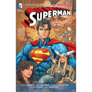 DC Comics - Superman Hard Cover Vol 04 Psi-War (N52)