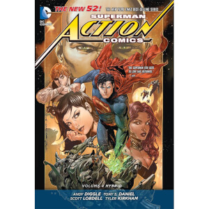 DC Comics - Superman Action Comics Hard Cover Vol 04 Hybrid