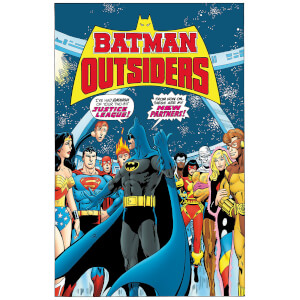 DC Comics - Batman & The Outsiders Hard Cover Vol 01
