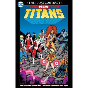 DC Comics - New Teen Titans The Judas Contract New