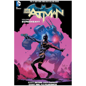 DC Comics - Batman Hard Cover Vol 08 Superheavy