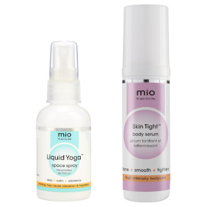 Mio Skincare Liquid Yoga and Skin Tight Travel Size Duo (Worth $26.50)