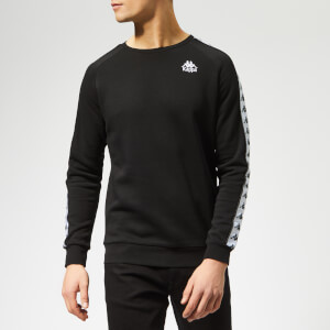 Kappa Men's Banda Arbir Sweatshirt - Black