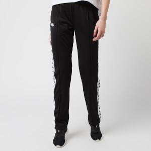 Kappa Women's Wastoria Snap Slim Trousers - Black