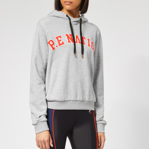 P.E Nation Women's Squad Hoodie - Grey Marl