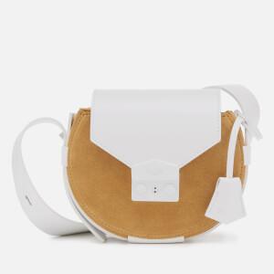 SALAR Women's Annie Multi Cross Body Bag - Cream/White