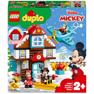 LEGO DUPLO Disney: Mickey's Vacation House Toy (10889)