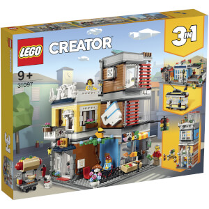 LEGO Creator: Townhouse Pet Shop and Café (31097)