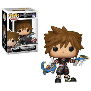 Disney Kingdom Hearts 3 Sora with Dual Blasters EXC Pop! Vinyl Figure