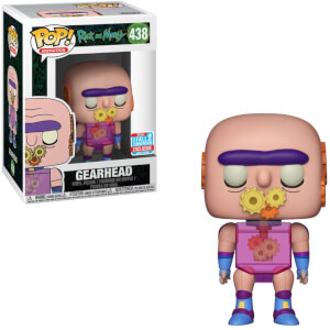 Rick and Morty Gearhead EXC Pop! Vinyl Figure