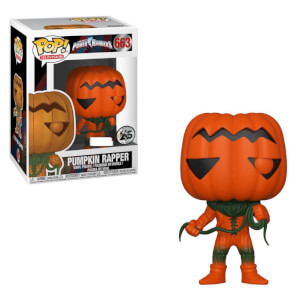 Power Rangers Pumpkin Rapper EXC Funko Pop! Vinyl