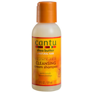 Cantu Shea Butter for Natural Hair Cleansing Cream Shampoo 89ml (Free Gift)