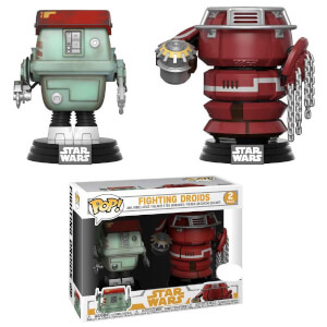 Pack de 2 Figuras Funko Pop! - Droides Luchando - Star Wars