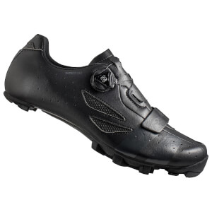 Lake MX218 Carbon MTB Shoes - Black/Grey