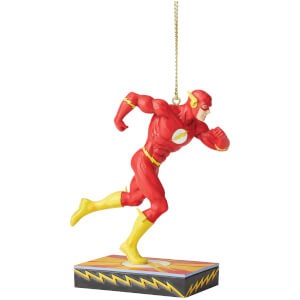 DC Comics by Jim Shore Flash Hanging Ornamentnt 11.0cm