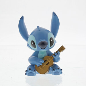 Figura Stitch guitarra (6 cm) - Disney Showcase
