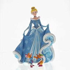 Figurine Cendrillon Noël (21cm)– Disney Showcase