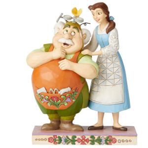 Disney Traditions Devoted Daughter (Figurine Belle et Maurice) 23 cm
