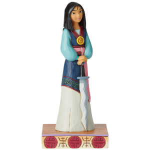 Disney Traditions Winsome Warrior (Mulan Princess Passion Figurine) 18.0cm