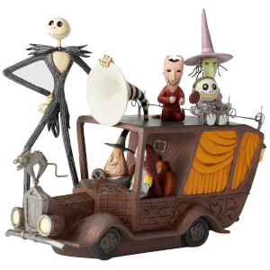 Statuetta Macchina del Sindaco (Nightmare Before Christmas), Disney Showcase – Enesco – 17 cm